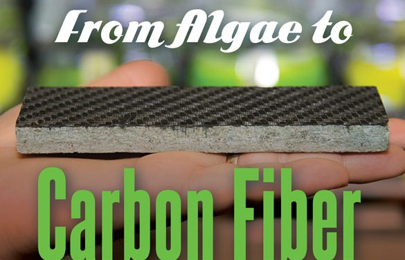 The short distance from algae to carbon fiber
